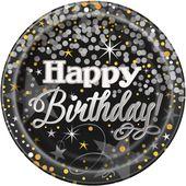 Tanierik veľký Glittering Birthday