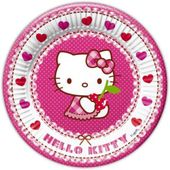 Tanierik veľký Hello Kitty