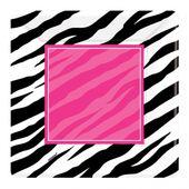 Tanierik veľký Pink zebra