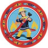 Tanierik veľký Požiarnik Sam