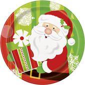 Tanierik Veselý Santa
