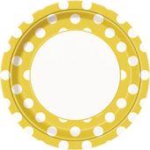 Tanierik žlté bodky