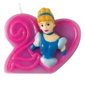 Tortová sviečka Disney Princezné, číslo 2