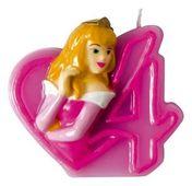 Tortová sviečka Disney Princezné, číslo 4