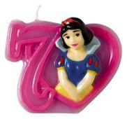 Tortová sviečka Disney Princezné, číslo 7