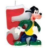 Tortová sviečka Mickey, číslo 5