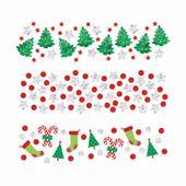 Vianočné konfety mix