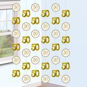 Visiace dekorácie 50 Happy Years