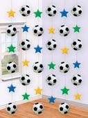 Visiace dekorácie Football