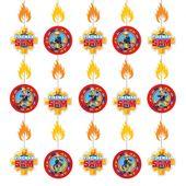 Visiace dekorácie Požiarnik Sam
