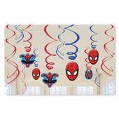 Visiace špirály Spiderman