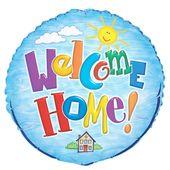 Fóliový balón Welcome home