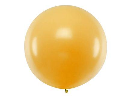 Balón veľký metalický zlatý