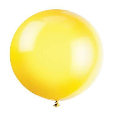Balón veľký žltý