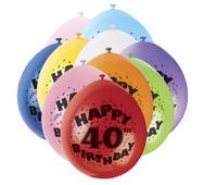 """Balóny """"40"""" Brilliant birthday"""