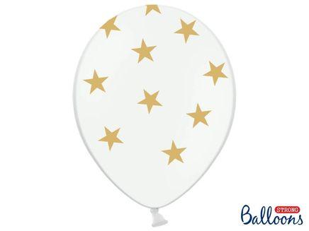 Balóny Stars zlaté