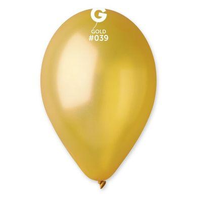 Balóny metalické zlaté