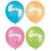 Balóny Pastel Baby Shower