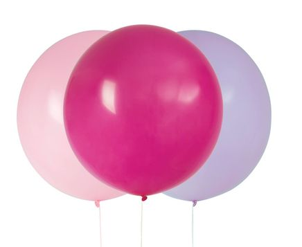 Balóny veľké ružovo-fialové