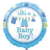 Fóliový balón Baby It's a Boy