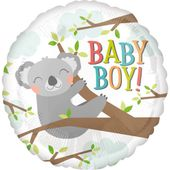 Fóliový balón Baby Koala Boy