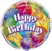 Fóliový balón Brilliant Birthday