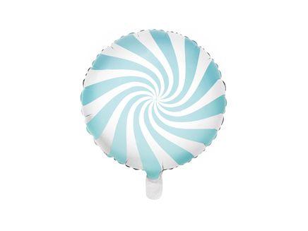 Fóliový balón Candy baby blue