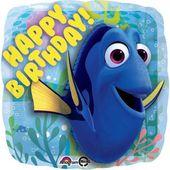 Fóliový balón Dory Happy Birthday