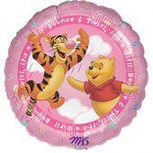 Fóliový balón Macko Pú It's a Girl
