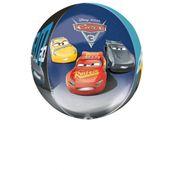 Fóliový balón orbz Cars 3