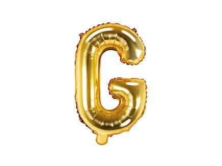 """Fóliový balón Písmeno """"G"""" zlatý"""
