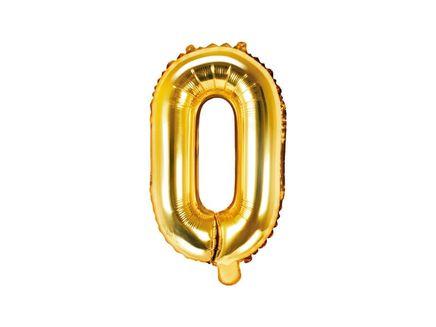 """Fóliový balón Písmeno """"O"""" zlatý"""