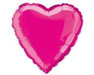 Fóliový balón srdce hot pink