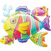 Fóliový balón supershape Tropické ryby