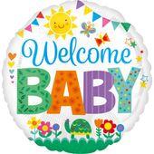 Fóliový balón Welcome Baby Cute