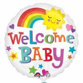 Fóliový balón Welcome Baby Sun