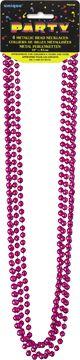 Korálky - Hot pink metallic
