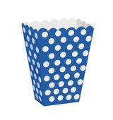 Košíky na drobnosti modré bodky