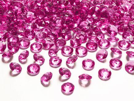 Kryštálové diamanty tmavoružové