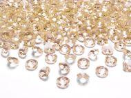 Kryštálové diamanty zlaté