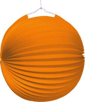 Lampión jednofarebný oranžový