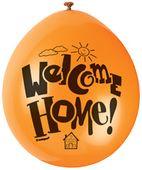 Balóny Welcome Home