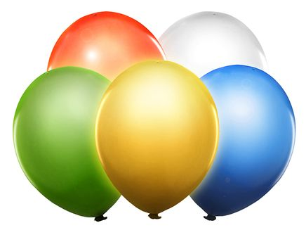 Svietiace LED balóny mix
