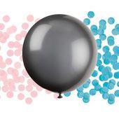 Balón veľký s konfetami Gender Reveal