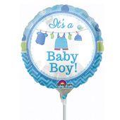 Mini fóliový balón It's a baby boy