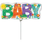 Mini fóliový balón Baby Cute