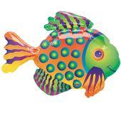 Mini fóliový balón Rybka tropical