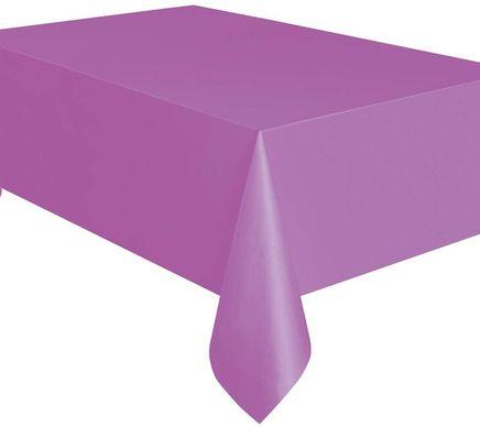 Obrus plastový fialový