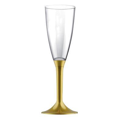 Pohár na šampanské zlatý