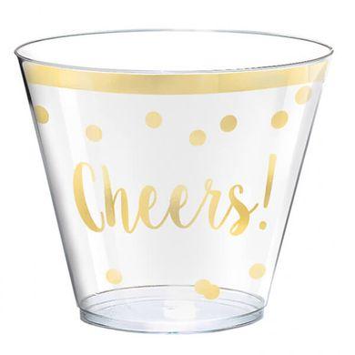 Sada plastových pohárikov Cheers